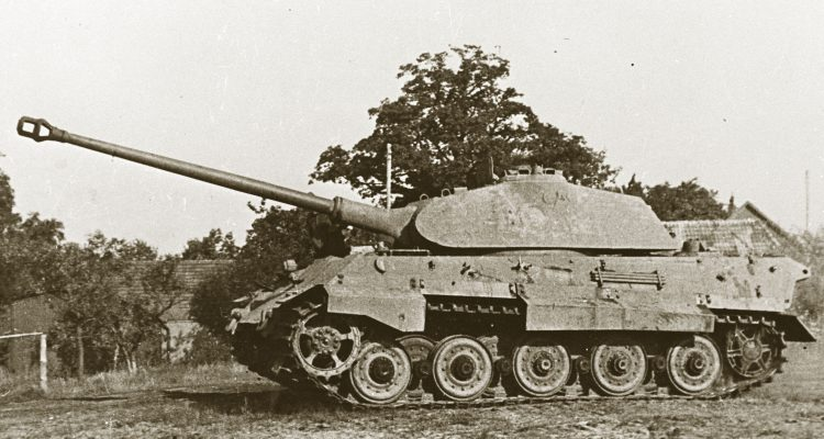 The Tank Museum's King Tiger Porsche