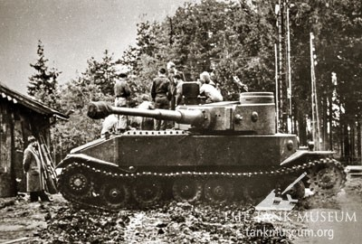 The unsuccessful VK45.01 (P)