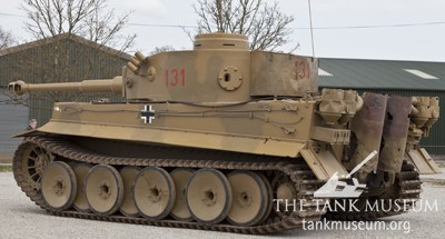 Compare the Tiger 131 with the Vimoutier Tiger on the right.