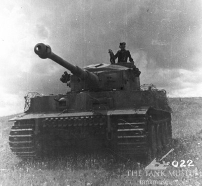 A Tiger I of Heavy Panzer Battalion 505 in the summer of 1943.