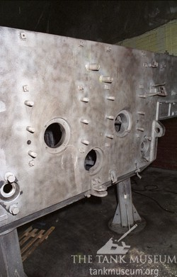 Tiger tank hull rear