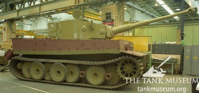 Tiger 131 tank turret