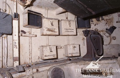 Turret interior before restoration