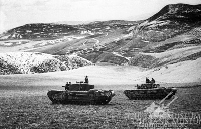 Churchill tanks Tunisia North Africa