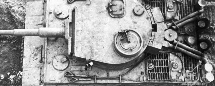 Tiger 131 Driver's hatch