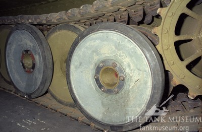 tiger 131 tank road wheels