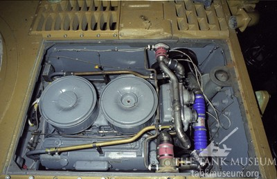 Tiger 131 Maybach engine
