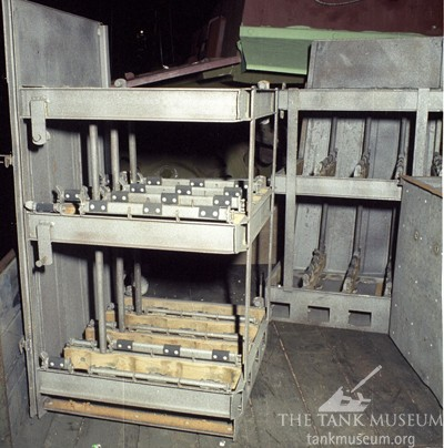 Ammunition stowage rack