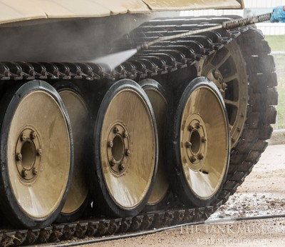 Cleaning Tiger 131 wheels