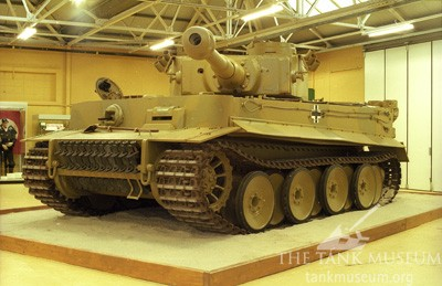 Repainted Tiger in the museum