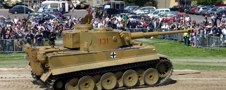 Engine problems arose at Tankfest 2004